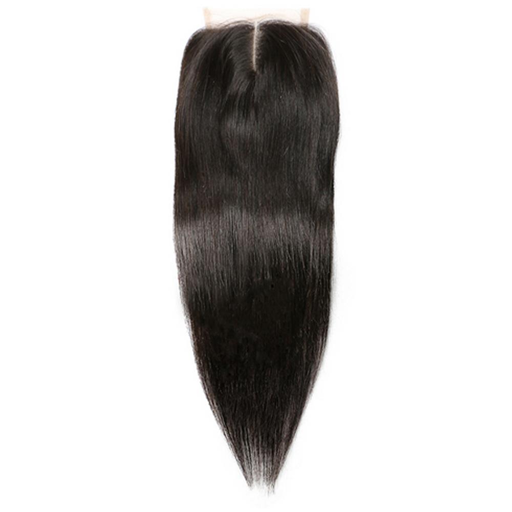 Straight Hair 3 Bundles With Closure Virgin Hair Straight