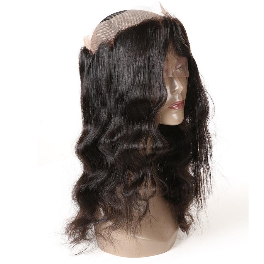 Glamorous Remi Hair Body Wave 360 Lace Frontal Closure