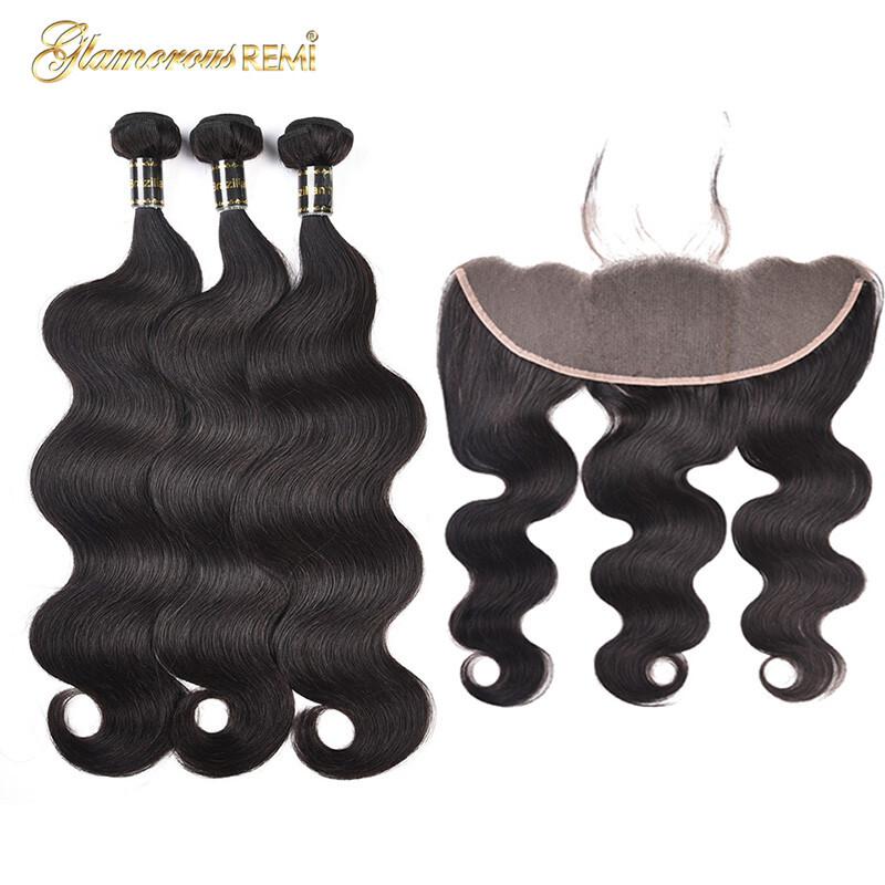 Human Hair Weaves Hair Extensions & Wigs Alipearl Hair Blonde 613 Bundles With Frontal Brazilian Straight Hair 3 Bundles With Frontal Pre Plucked Remy Hair