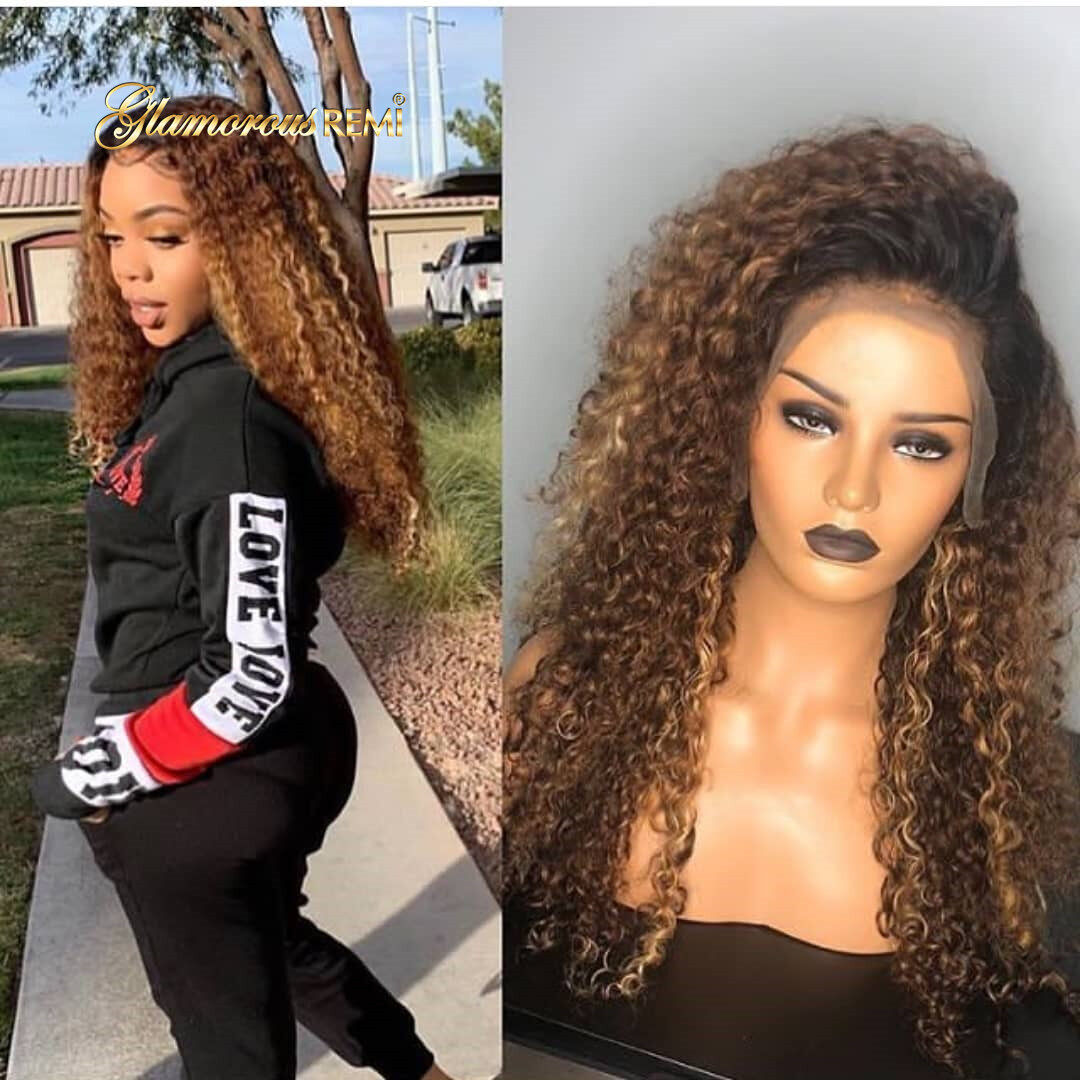 New Style Lace Front Curly Human Hair Wigs Full Ends Wet And Wavy Wave Brazilian Indian Peruvian Virgin Hair Wigs For Women Black