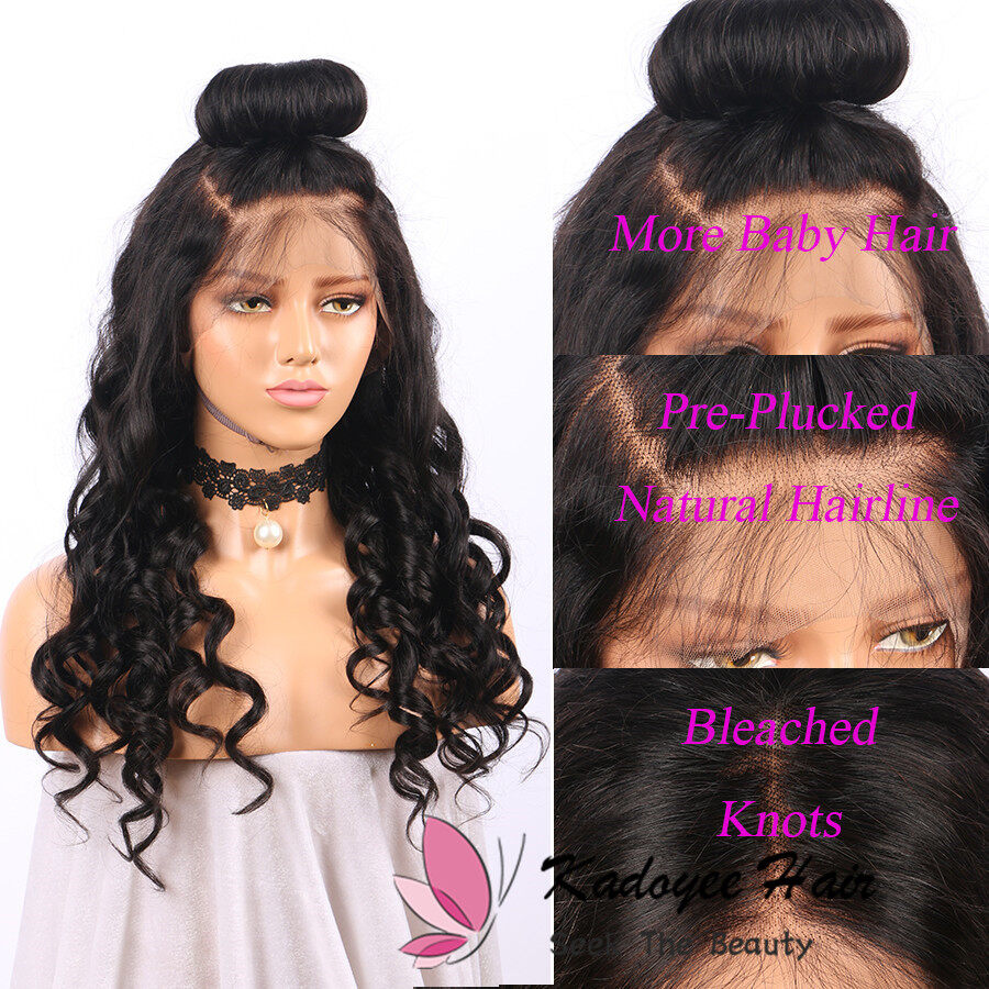 Loose Weave Human Hair Wigs For Black