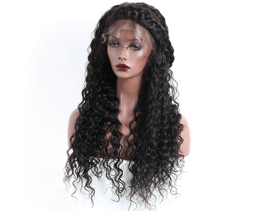 Kadoyee Brazilian Human Hair Loose Wave Lace Front Wig