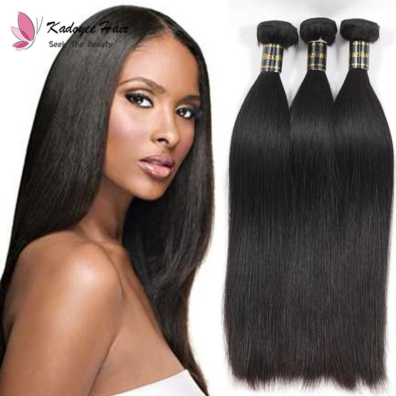 Silky Straight Hair Extensions Brazilian 8 26inch Unprocessed Human