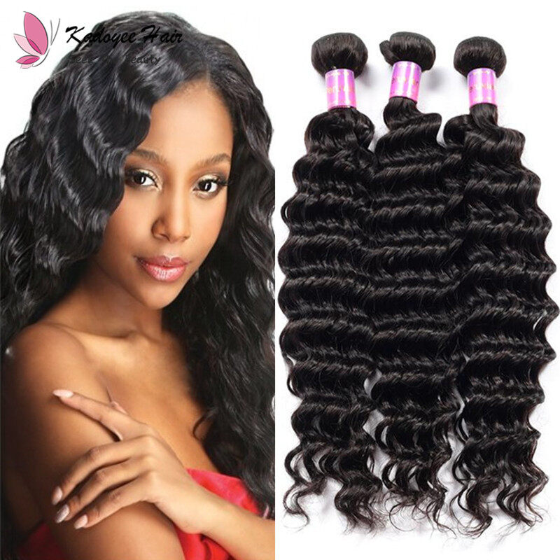 Malaysian Loose Wave Bundles Natural Black Hair Weaving 100 Human