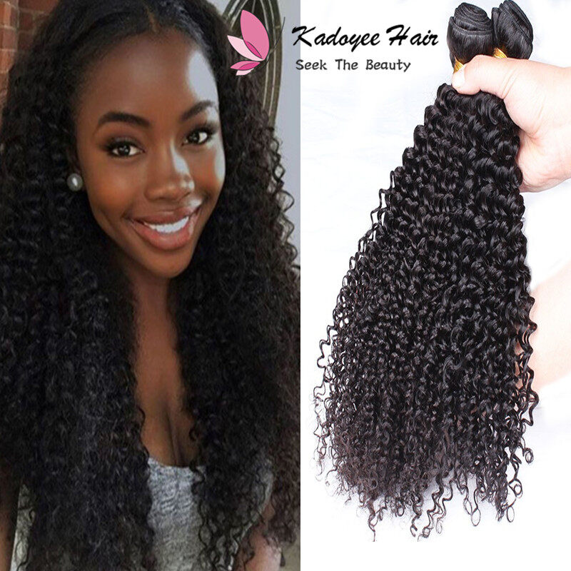 Peruvian Kinky Curly 100 Human Hair Extensions 8 26 Inch