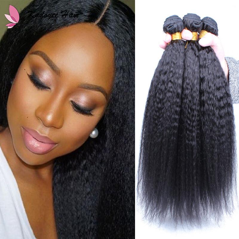 Malaysian Kinky Straight Hair Weave Bundles