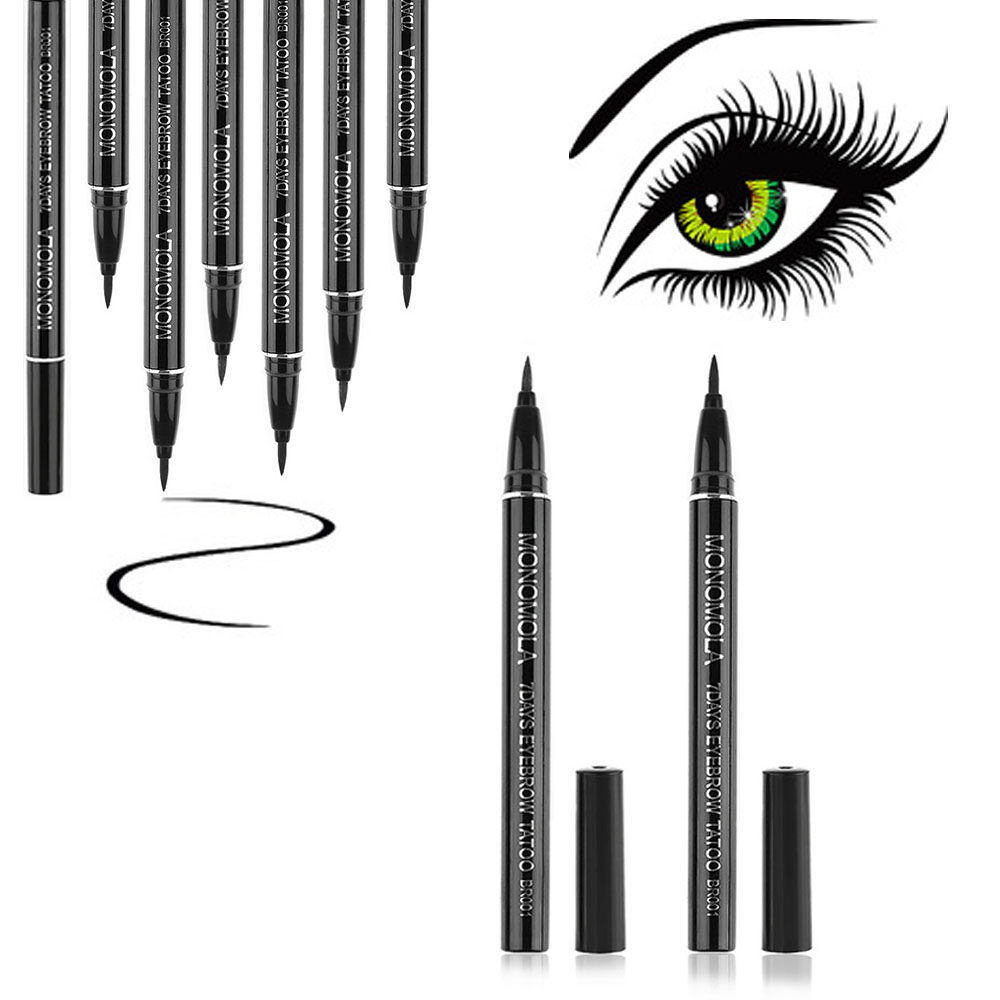 1pc Waterproof Brown 7 Days Eye Brow Eyebrow Tattoo Pen Liner Long