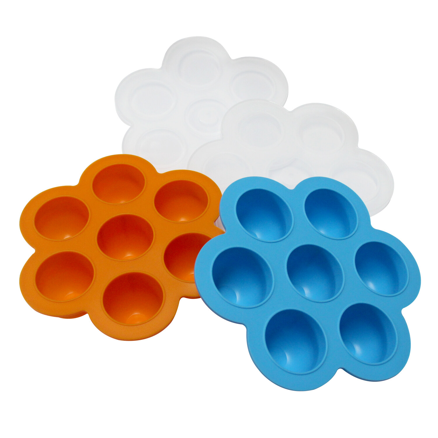 Premium Egg Bites Mold Silicone With Lid Reuseable Baby