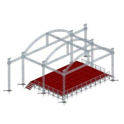 aluminum stage lighting truss,stage platform for event,p3 video wall for event