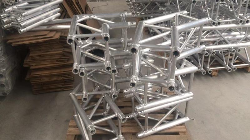customized aluminum lighting truss | entertainment truss | lighting truss corner