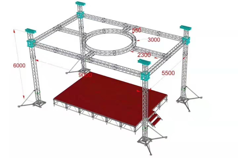 custom entertainment truss | entertainment truss | customized event truss structures