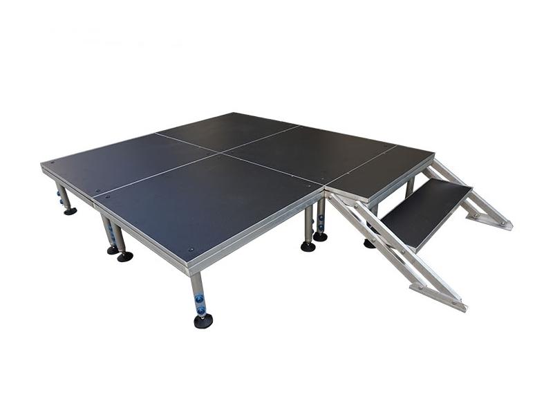4x8 stage riser | modular portable stage | 4*4 modular portable stage