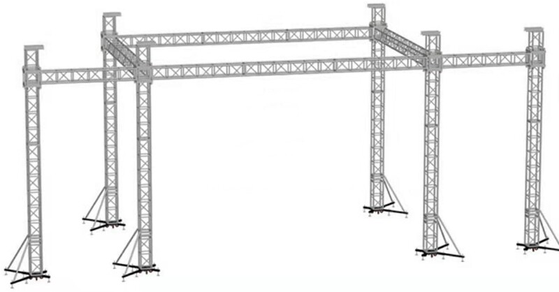 lighting truss system | stage lighting truss systems | event truss structures