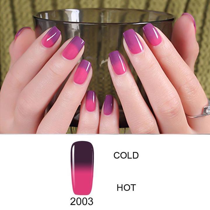 Color Changing Nail Gel Polish