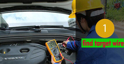how to find cardot car alarm 6P start wiring harness?