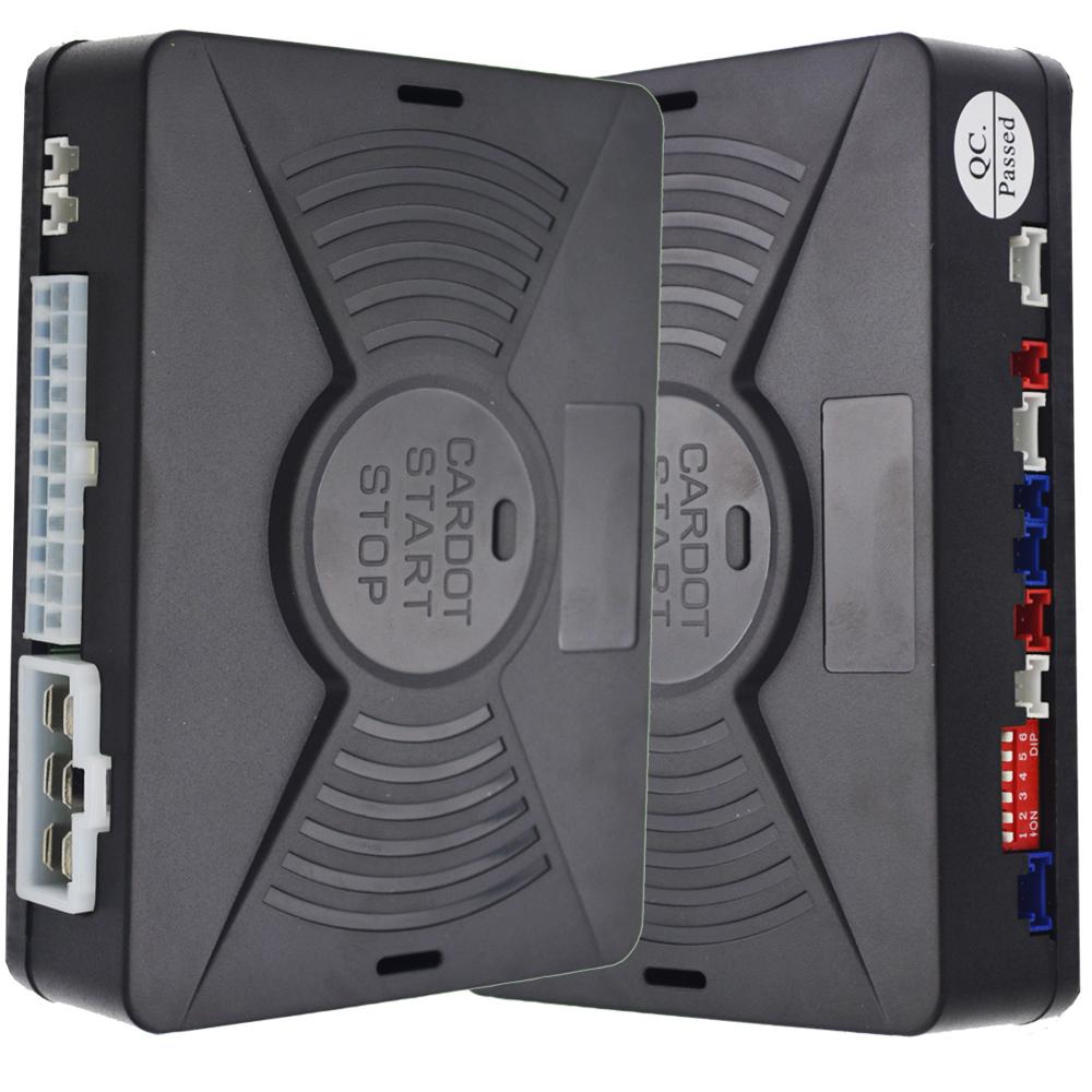 Cardot Top Quality Smart Car Alarmpke Alarmalarm Carcar Alarm Auto Mobile Remote Starter Kit Phone Start Bluetooth Vibration