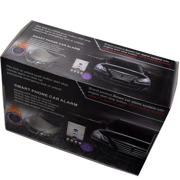 3G keyless entry smart push button start engine mobile phone remote start  car engine gps vehicle tracking online