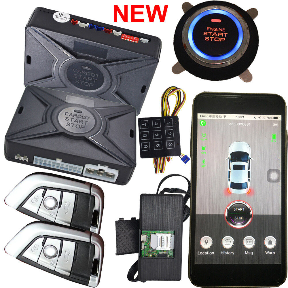 cardot top quality smart car alarm#pke car alarm#alarm car#car alarm ...
