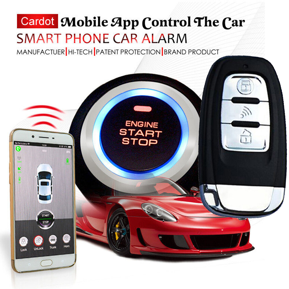 Gps Tracking Device For Car >> Cardot Top Quality Smart Car Alarm Pke Car Alarm Alarm Car Car Alarm