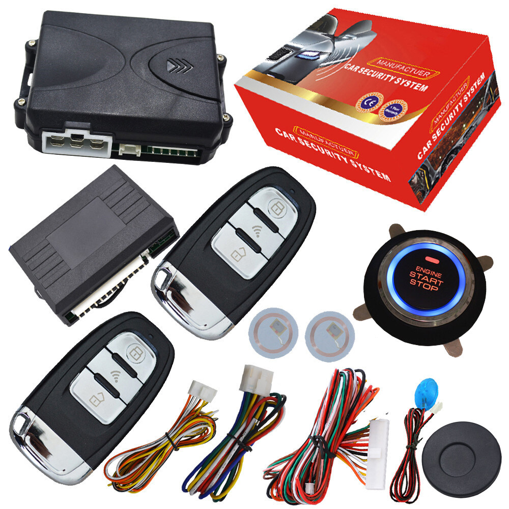 cardot top quality smart car alarm#pke car alarm#alarm car ...