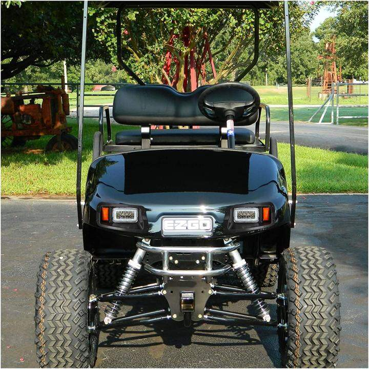 Deluxe LED Headlight Taillight Kit for EZGO Freedom TXT/T48 with RGB Headlight
