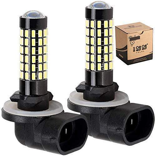 LED Headlight Bulb for 12V EZGO Club Car DS Precedent- Pack of 2