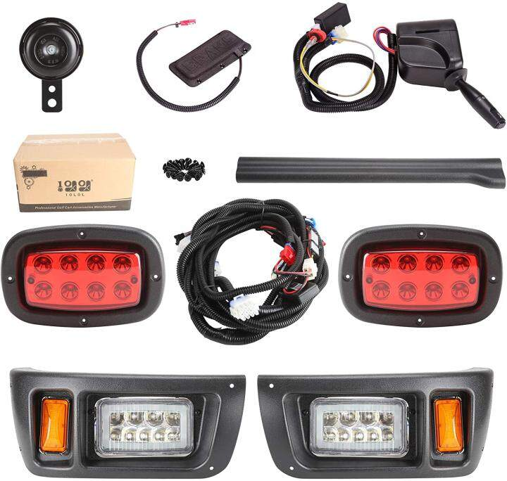 3 Version Golf Cart LED Headlight and Tail Light for Club Car DS Carts