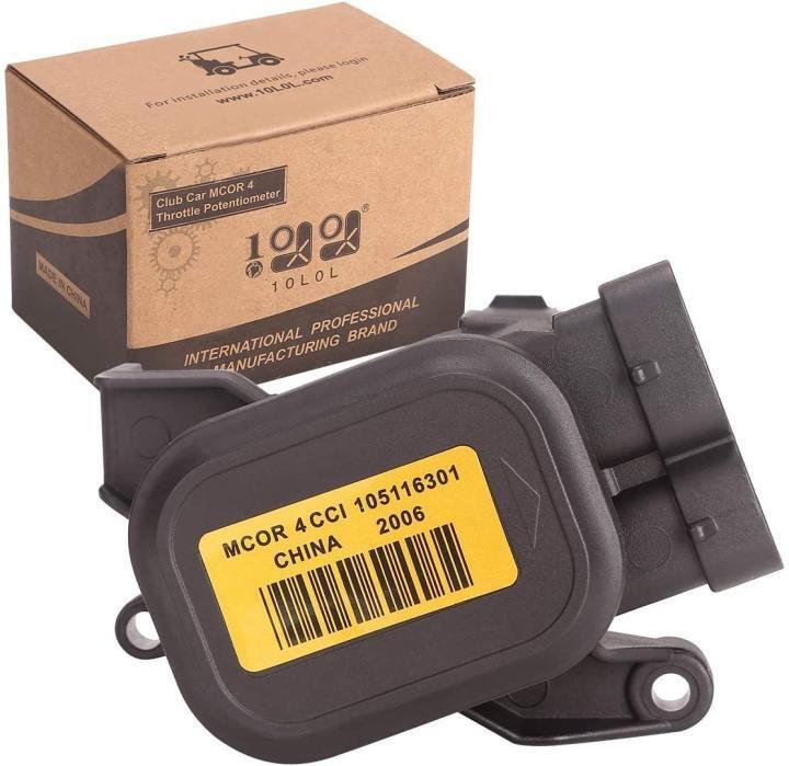 Golf Cart MCOR 4 Throttle Potentiometer for Club Car DS Precedent 105116301