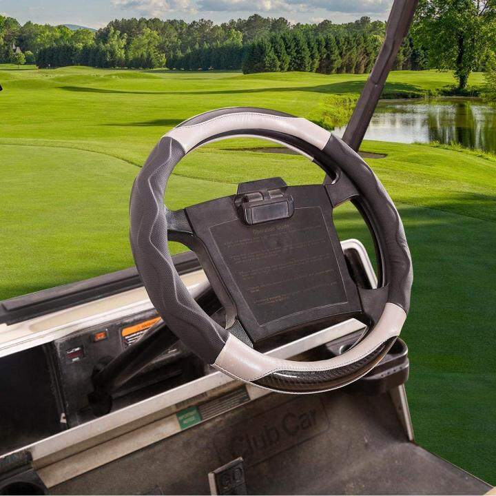 Golf Cart Steering Wheel Cover for Club Car and Yamaha, 14 Inch
