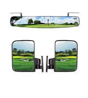 Golf Cart Mirrors Kit