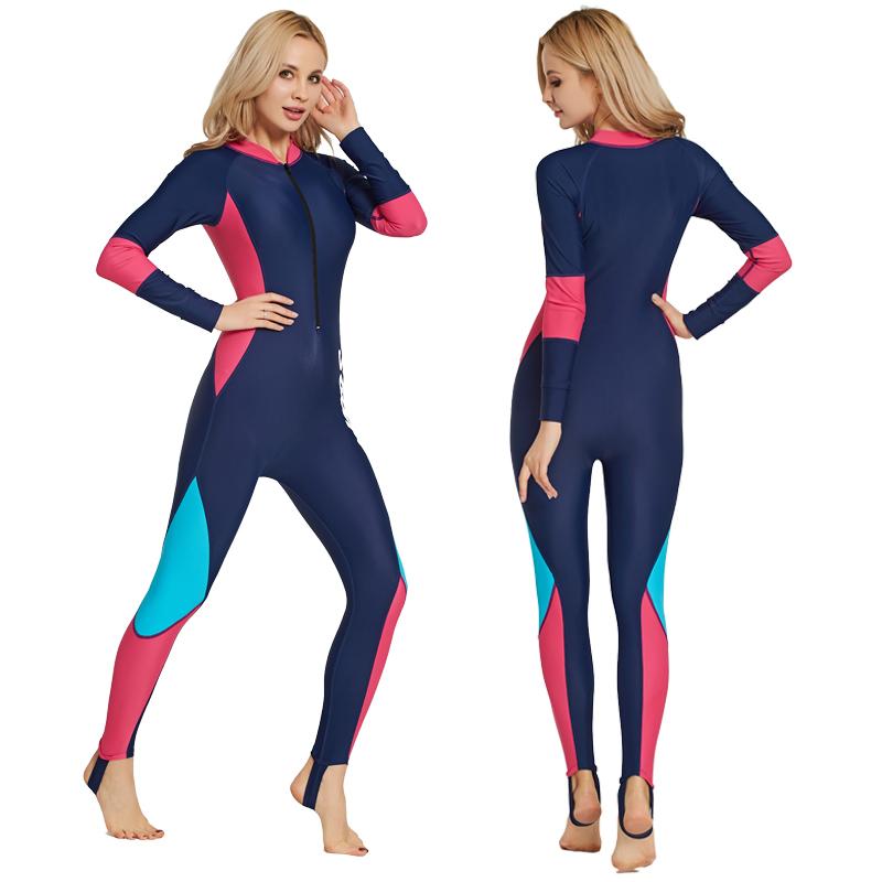 ebe5fe00907 Women Full Body Swimsuit Stinger Suit Dive Skin Hooded UV Protection  Swimwear Swimsuits & Cover Ups