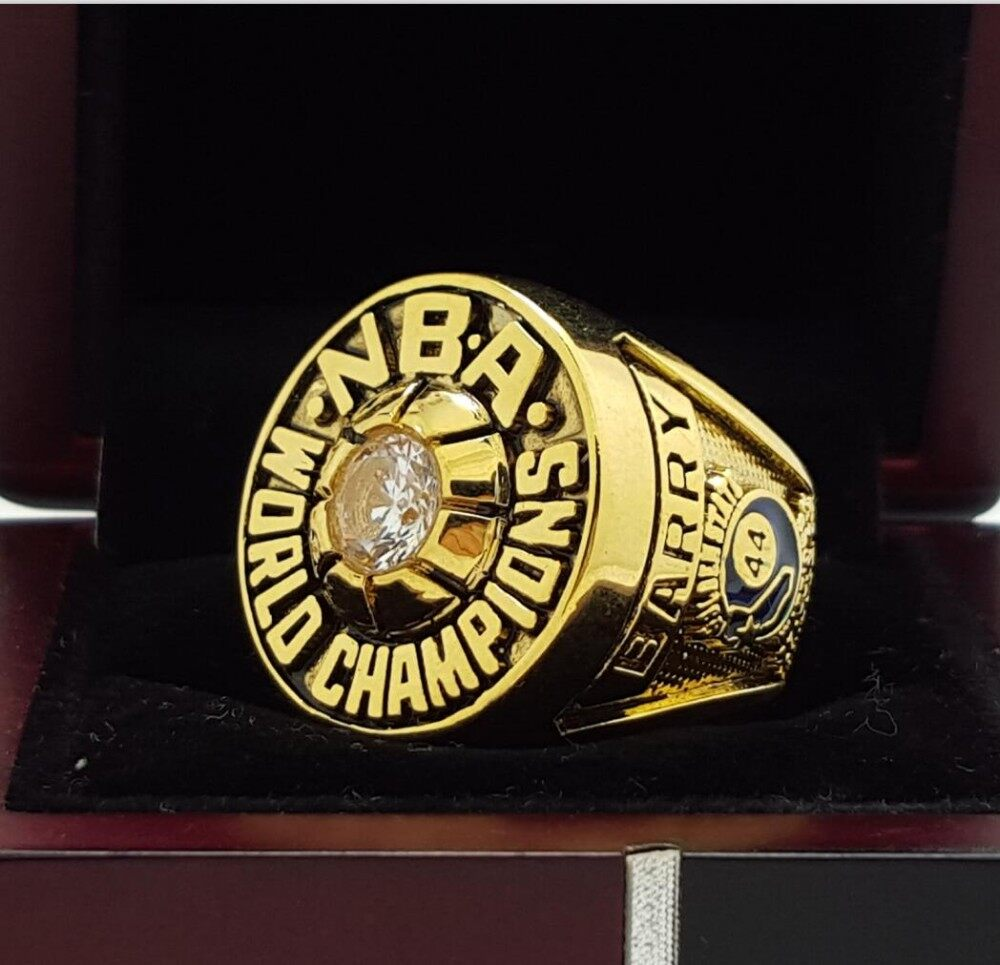 Golden State Warriors Championship: 1975 Golden State Warriors Basketball Championship Ring