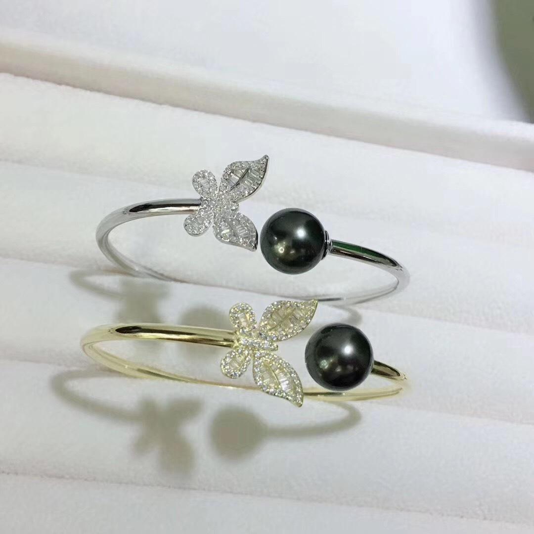 Pearl Jewelry Bracelet Mounts,Real Sterling Silver 925  2