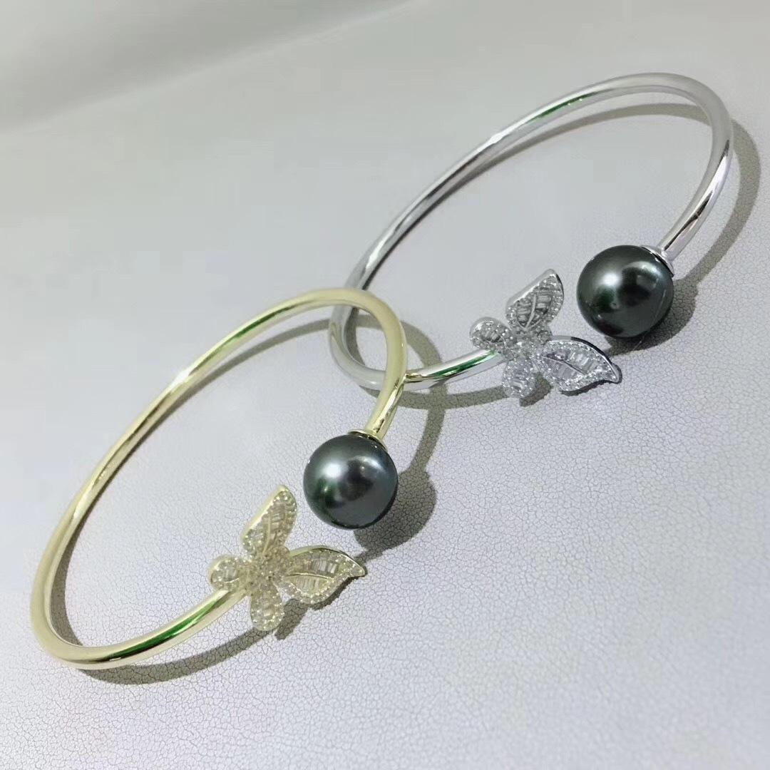 Pearl Jewelry Bracelet Mounts,Real Sterling Silver 925  3
