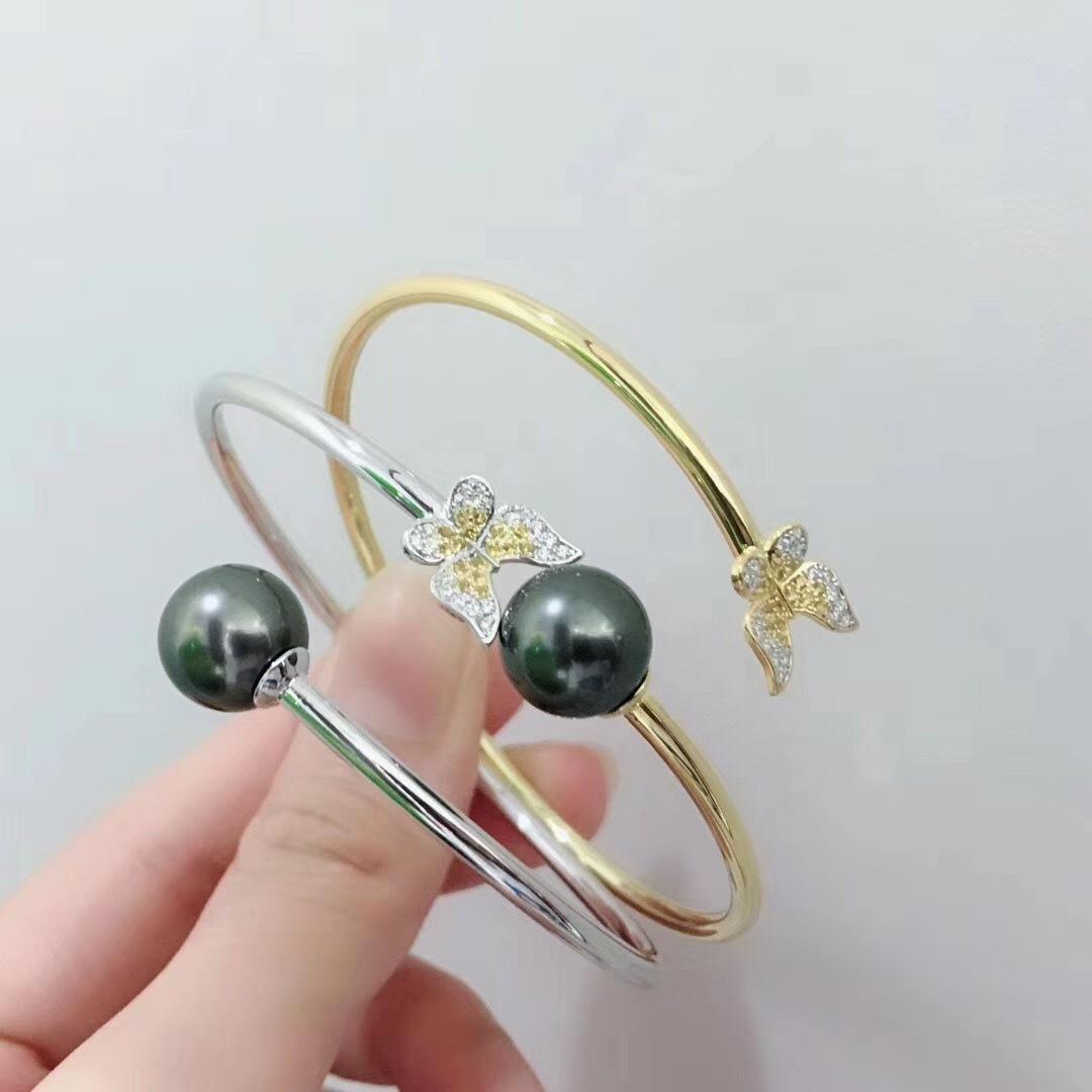 Pearl Jewelry Bracelet Mounts,Real Sterling Silver 925  5