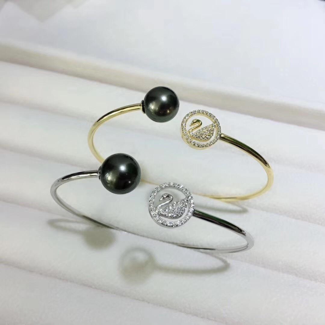 Pearl Jewelry Bracelet Mounts,Real Sterling Silver 925  1