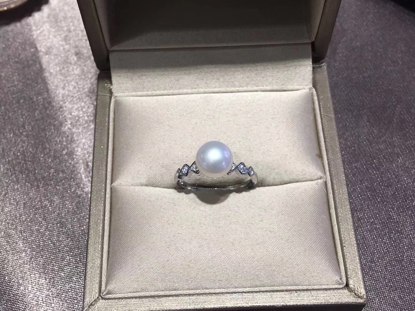 Pearl Jewelry Ring Mounts,Real Sterling Silver 925 Ring  4