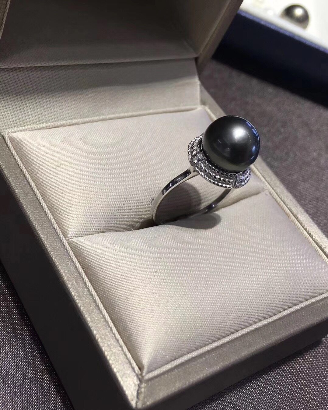 Pearl Jewelry Ring Mounts,Real Sterling Silver 925 Ring  2