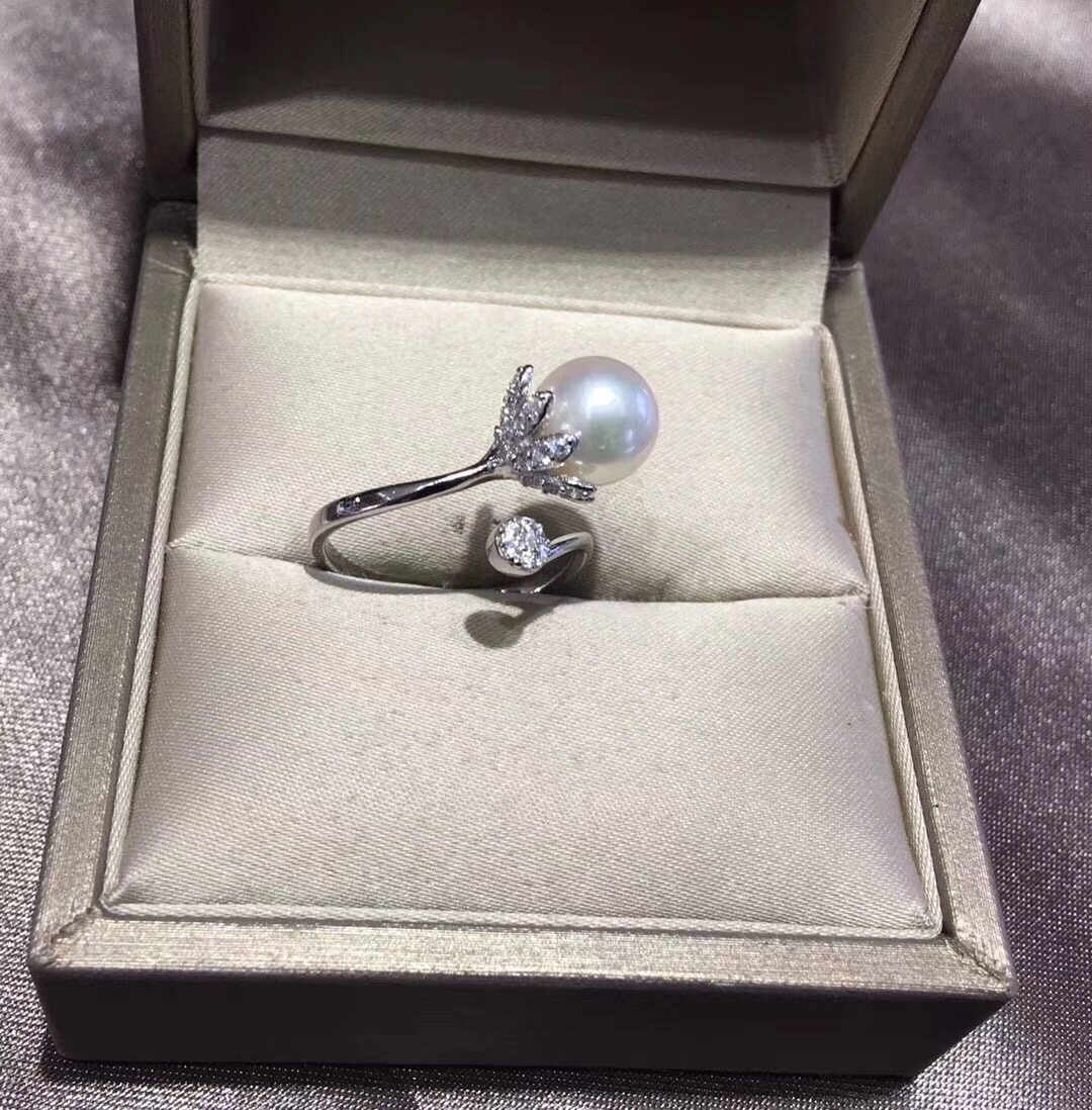 Pearl Jewelry Ring Mounts,Real Sterling Silver 925 Ring  3