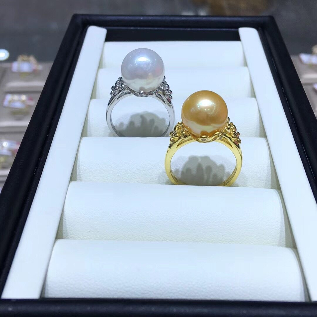 Pearl Jewelry Ring Mounts,Real Sterling Silver 925 Ring  0