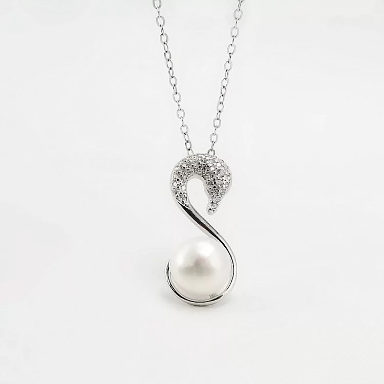 Pearl Jewelry Pendant Mounts ,Real Sterling Silver 925  0