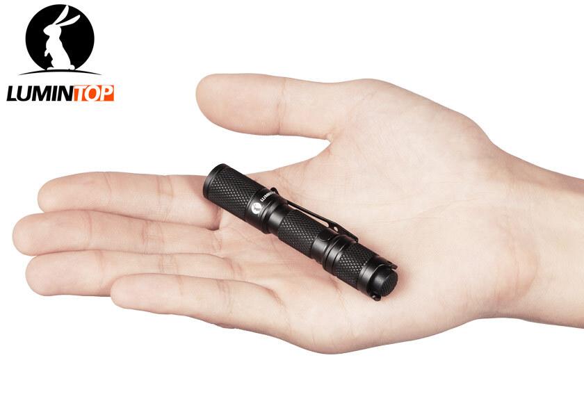 Lumintop Tool AA2.0 UV 365nm Ultraviolet LED Flashlight