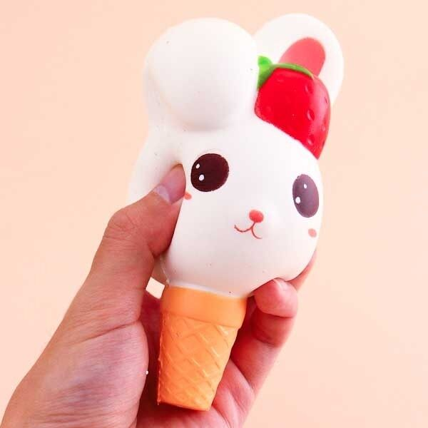 Rabbit Ice Cream Squishy 1