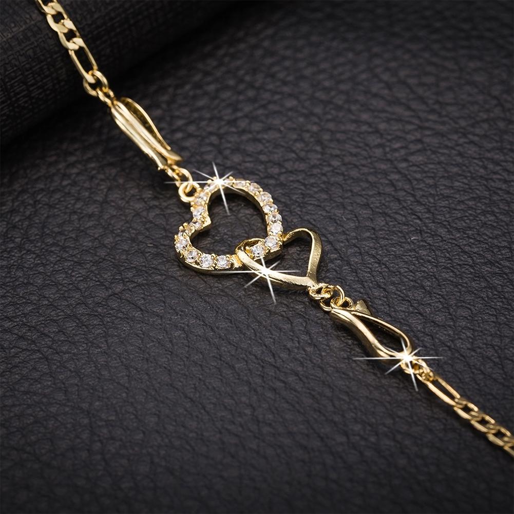 Women Crystal Barefoot Sandal Beach Anklet Foot Toe Chain Jewelry Ankle Bracelet JL0003-J-B 1