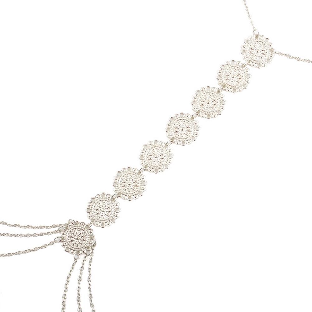 Womens Harness Body Chest Belly Waist Chain Necklace Beach Bikini Jewelry Silver BAP0013 11