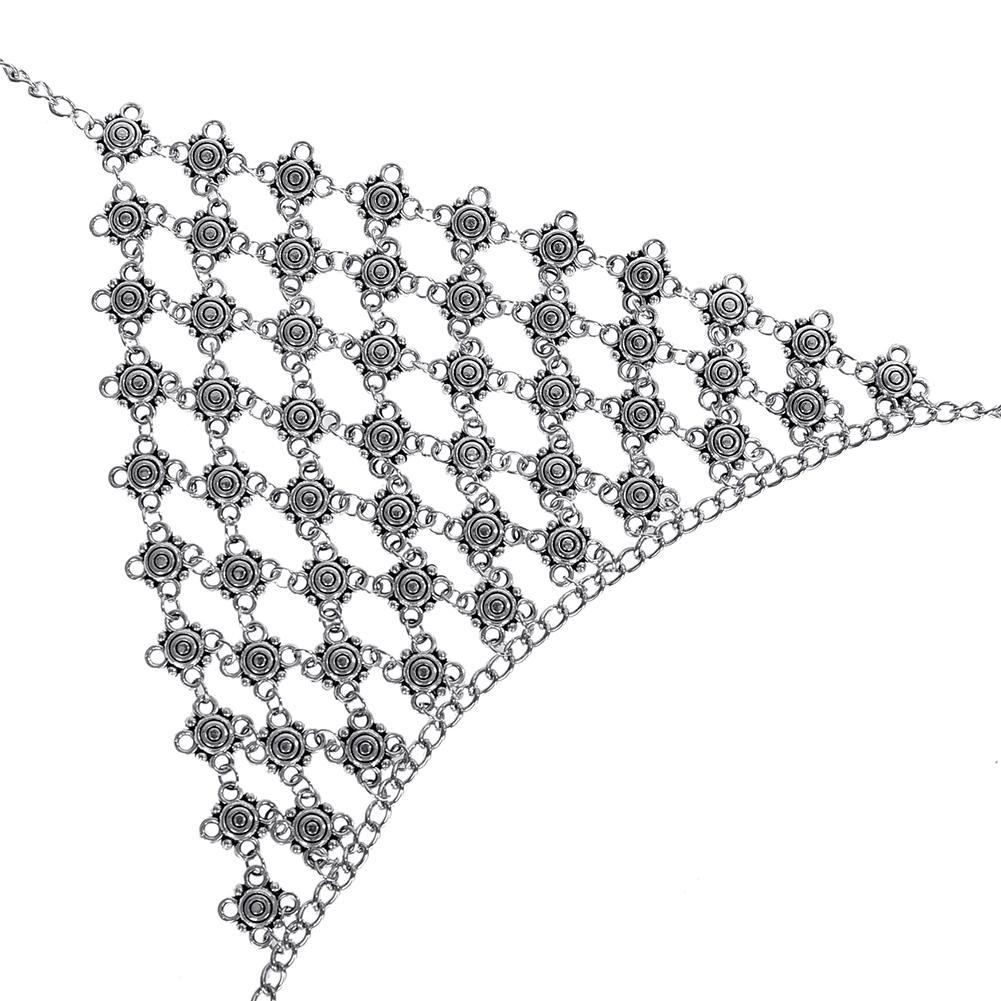 New Imixlot Body Bra Bikini Sexy Chain Women Statement Metal Bra Chain Bralette Beach Party Harness Necklace Jewelry BAP0033 6