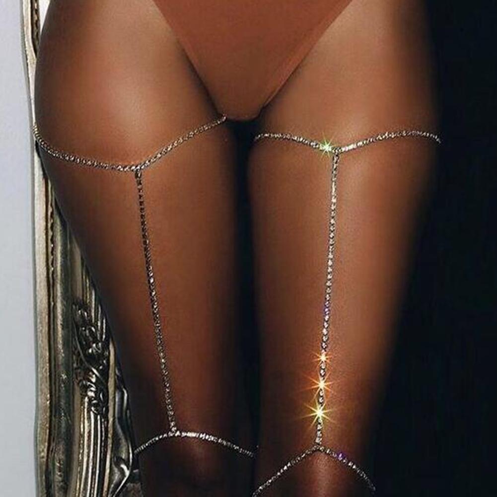 New Women Shiny Crystal Rhinestone Bra Chest Body Chains Bikini Fashion Jewelry BAP0018@ 0