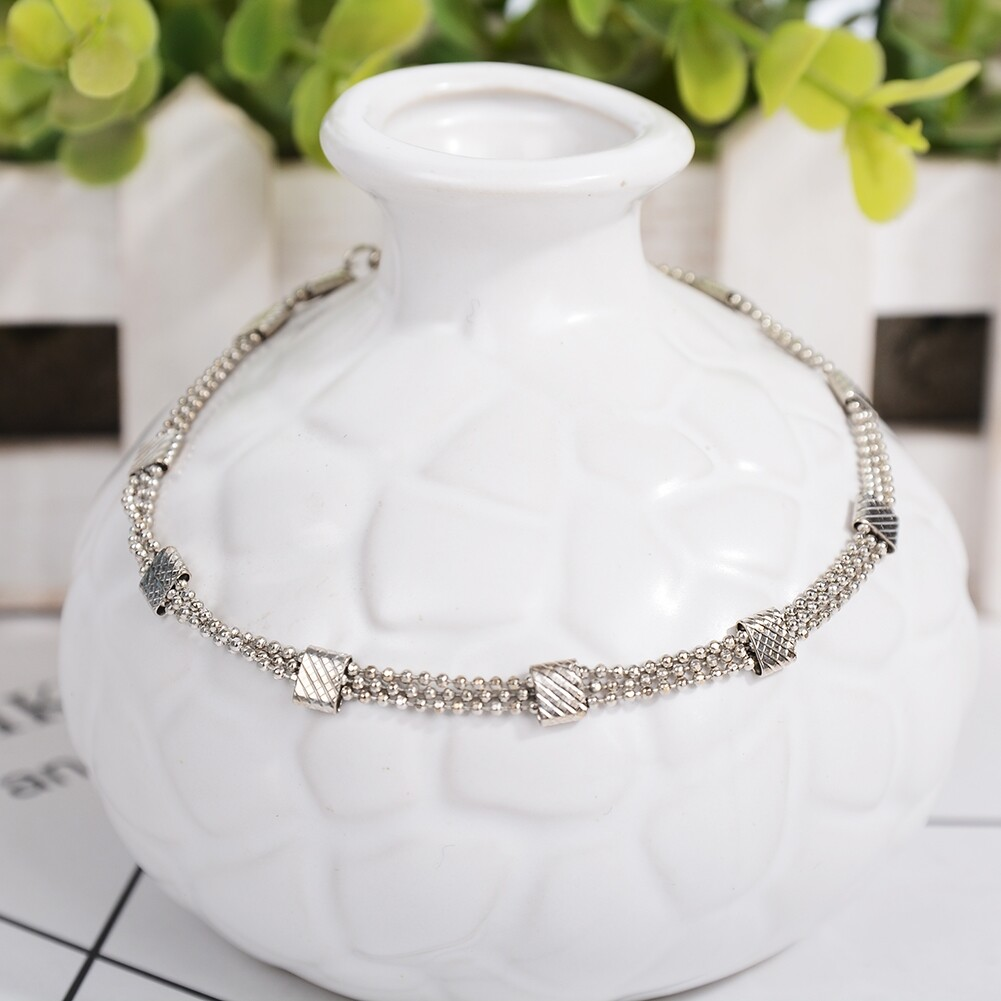 Vintage Fashion Crystal Anklets For Women Stainless Steel Shoe Boot Chain Bracelet Foot Jewelry BA0114 39