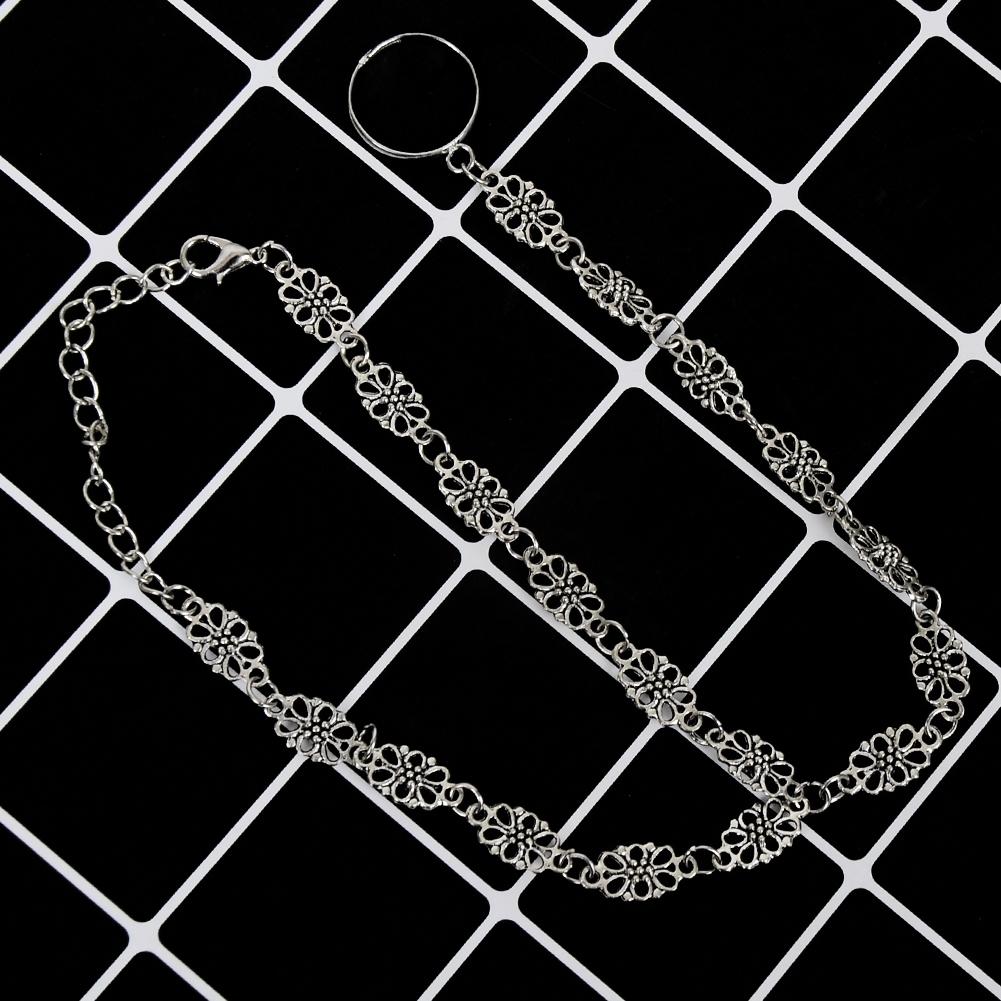 Fashion Women Flower Coin Anklet Foot Chain Ankle Bracelet Toe Ring Beach BA0126 12
