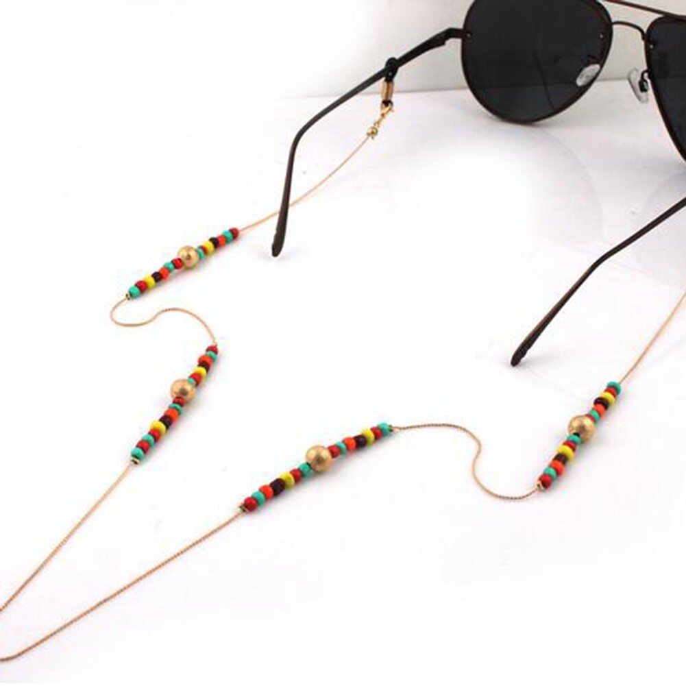kind Eyeglass Glasses Strap Sunglasses Chain Beaded Cord Holder Neck Lanyard JWP0014 0